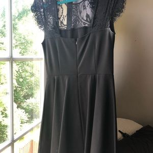 Bb Dakota black lace dress size 8 worn once!